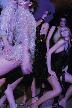 """saturday night"", photographed by patrick demarchelier for numero #39"