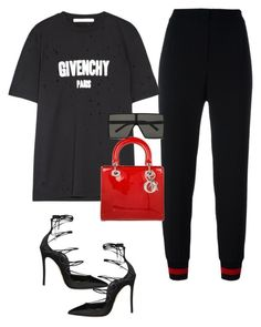 Untitled #107 by styledbyleilani on Polyvore featuring polyvore, fashion, style, Givenchy, Philipp Plein, Dsquared2, Christian Dior, Yves Saint Laurent and clothing