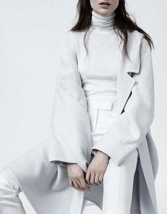 CLOTHES || White on white