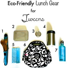 Eco-Friendly Lunch Gear for Tweens... And it stands the test of time too!