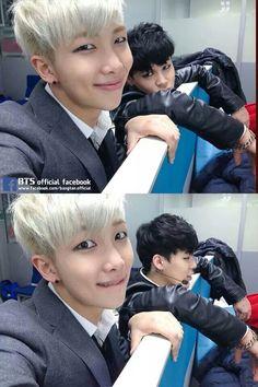 1) jimin is so hot i love him 2) aw namjoon is so cute