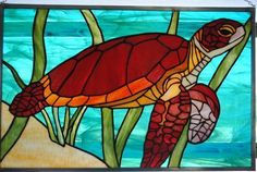 Keys Sea Turtle - Delphi Artist Gallery GDG Glass Creations