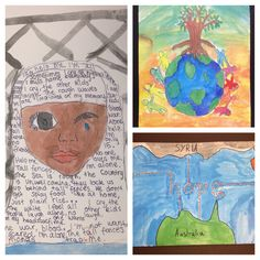 Refugee Week Art grade 3 to 6