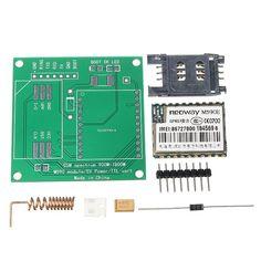 Doble banda kit del módulo de comunicación 900 / 1800MHz 85.6 kbit / s 900m - 1800m para Arduino GSM GPRS m590e bricolaje