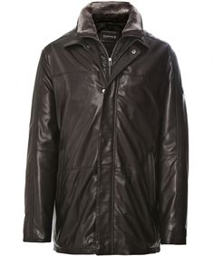 Trapper Gant Insert Leather Jacket  Jules B    Was: £424.99    Now £254.99