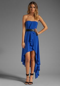 BCBGMAXAZRIA Larkspur Dress in Blue at Revolve Clothing - $304