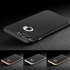 Neo Hybrid Carbon Slim Duel Layer protection Case Cover For Apple iPhone 7 Plus #MADBITSDESIGN
