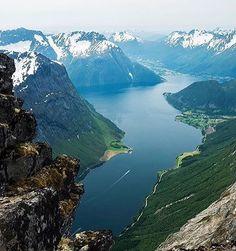 Slogen, Norway ~ Photograph By @andreasebbesen Via @wonderful.globe