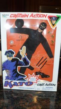 Captain Action Green Hornet Kato Doll