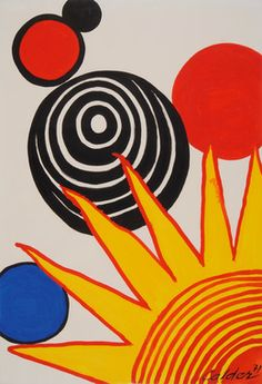 Alexander Calder, 'Quarter Sunrise,' 1971, Gilden's Art Gallery
