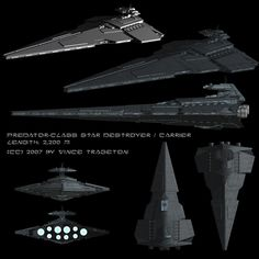 Starship Profile: Predator-class Star Destroyer by Vince-T on DeviantArt