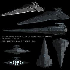 Starship Profile: Predator-class Star Destroyer by Vince-T on DeviantArt