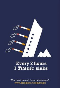 Toutes les 2 heures, un Titanic sombre