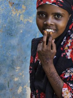 Kenyan girl.