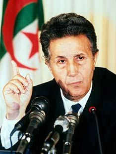 Ahmed Ben Bella was a Pan-Africanist and nationalist leader of Algeria. He was one of the first to take up the armed struggle against French colonial rule. He became the first president of Algeria in 1963 and was deposed by a western supported military coup in 1965. He died in 2012.