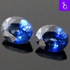 Australian Natural Faceted 1.08 ct  Blue Sapphire