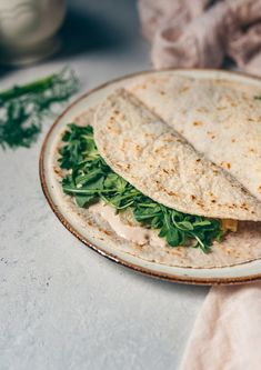 Quesadillas, Crepes, Detox Recipes, Healthy Recipes, Panda Food, Vegan Wraps, Light Recipes, Love Food, Food Photography