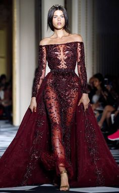 haute couture dress couture couture dresses couture kleider couture rose couture rules Zuhair Murad from Best Looks From Paris Haute Couture Fashion Week Fall 2018 Fashion Week, Look Fashion, Runway Fashion, Fashion Models, Fashion Show, Fashion Outfits, Fall Fashion, Fashion Online, High Fashion Dresses