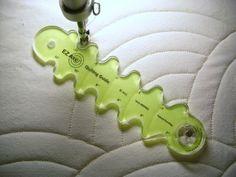"Amazon.com: Baptist Fan Rotating Longarm Quilting Template - 1/4"" laser-cut acrylic: Arts, Crafts & Sewing"