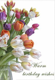 Free Printable Warm Birthday Wishes Greeting Card