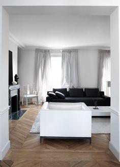 Designer Files: {A Pure and Poetic Parisian Apartment}