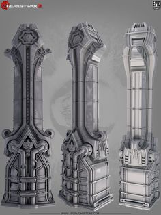 Gears of War 3 - Environment Art - Polycount Forum