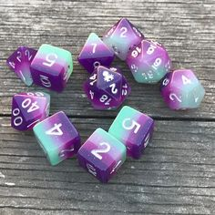 Iconic Mythical Collection Dragon Dice #naturallight #nofilter #dnd #dungenanddragons #d20 #dice #kickstarter