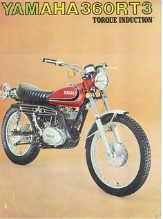 """habermannandsons: """" Bikes of the Week - Two Stroke Enduros Yamaha RT/DT 360 """" Dt Yamaha, Yamaha Motorcycles, Sport Motorcycles, Enduro Motorcycle, Motorcycle Posters, Vintage Bikes, Vintage Motorcycles, Off Road Bikes, Japanese Motorcycle"""