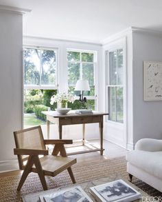 """Sag Harbor Home - Elle Decor This Summer House Was Once A """"Sleeping Beauty Covered In Vines"""" Design Blog, Home Design Decor, House Design, Design Art, Design Ideas, Decoration Inspiration, Interior Inspiration, Style Inspiration, Sunday Inspiration"""