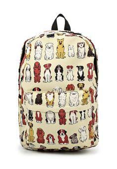 02823c7925d2 Текстильный #дизайнерский #рюкзак с породами собак. Купить с бесплатной  доставкой — http: