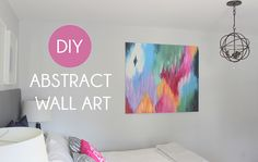 DIY Abstract Wall Art | Flickr – Condivisione di foto!