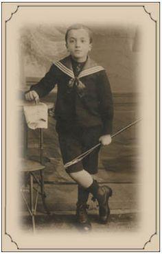 Mustafa Kemal's childhood picture.