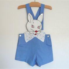 Vintage Bunny Suit, 1940s