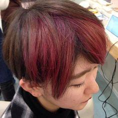 blue hair lau @blue_hair_lau フロント周りのポ...Instagram photo   Websta (Webstagram)
