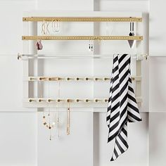 Elle Lacquer Wall Jewelry Organizer #pbteen