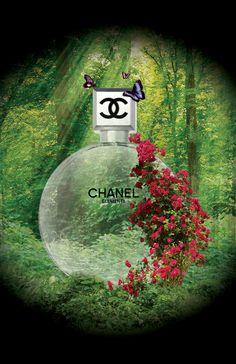 Chanel Elements - Self Promotion by Tiffany Walls, via Behance