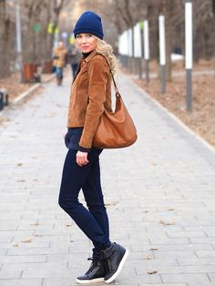 Marina S. - Look of the day. Spring casual