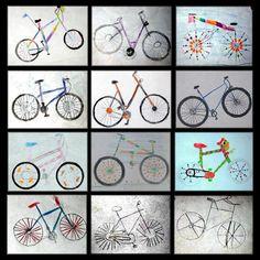 Arbeitsergebnisse aus dem Kunstunterricht - Schule Am Lindenberg Art Education Lessons, Art Lessons, 4th Grade Art, Bicycle Art, Spring Art, Travel Themes, Drawing For Kids, Art School, Creative Art