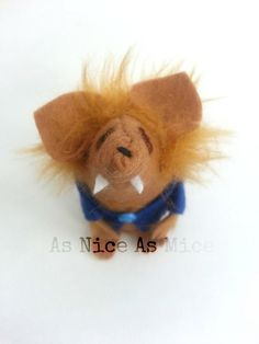 Werewolf Mouse Halloween Ornament   A handmade by AsNiceAsMice https://www.etsy.com/listing/163702056/werewolf-mouse-halloween-ornament-a?ref=shop_home_feat_3