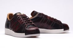 adidas Originals Superstar 80s (Night Red) - Sneaker Freaker
