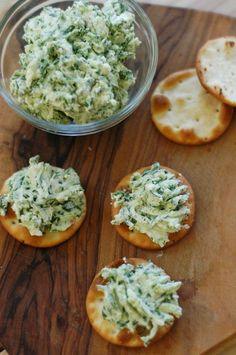 Three Minutes for Spinach - This Spinach and Goat Cheese spread takes three minutes to make, three ingredients, and helps get kids to love spinach.  Spread it on bagels for breakfast, on crackers for snacks, sandwiches for lunch…the possibilities are endless.