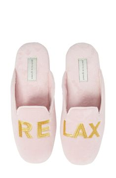 online shopping for patricia green Relax Embroidered Mule Slipper (Women) from top store. See new offer for patricia green Relax Embroidered Mule Slipper (Women) Mens Fashion Shoes, Pink Fashion, Fashion Women, Wedding Slippers, Loafer Mules, Luxury Shoes, Womens Slippers, Women's Pumps, Nordstrom