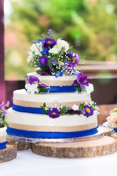 Wedding colors were blue and purple with rustic accents. Planning a humboldt county fall wedding. Check out Parkyspics in Southern Humboldt County in Northern California. Wedding Cake Centerpieces, Cake Wedding, Wedding Decorations, Wedding Ideas, Softball Wedding, Basketball Wedding, Golf Wedding, Floral Wedding, Wedding Colors