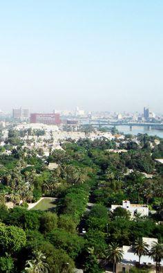 """Bagdad: la """"zona verde""""."""
