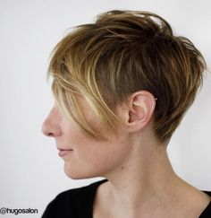 Feathered Pixie with Undercut