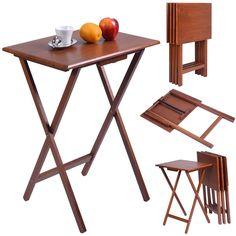 Set Of 4 Folding Tables