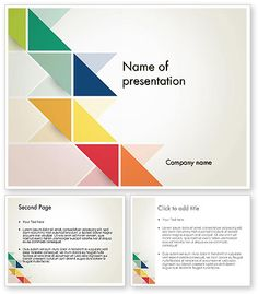 http://www.poweredtemplate.com/12296/0/index.html Colorful Triangles PowerPoint Template
