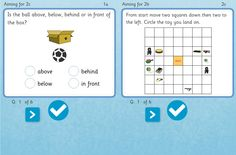 KS1 Assessment - POSITION AND MOVEMENT 1 activity