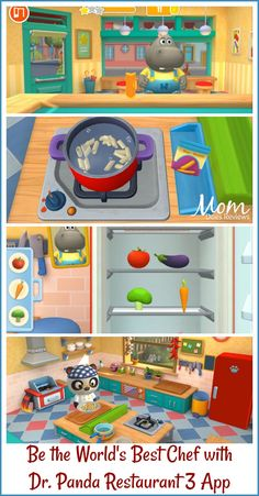 Be the World's Best Chef in The New app Dr. Panda Restaurant 3 #kidsapp #drpanda Download Dr. Panda Restaurant 3 today! #ad