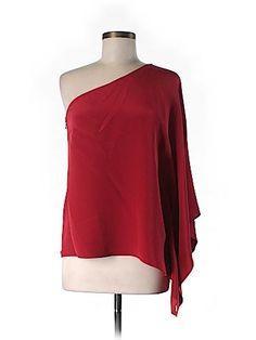 Jay Godfrey Women 3/4 Sleeve Silk Top Size 6
